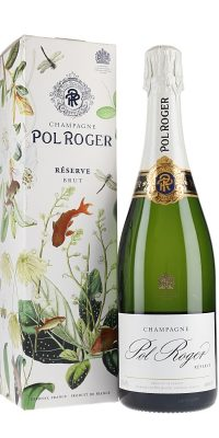 An excellent value for money champagne, Pol Roger Reserve is great for drinking now but is also suitable for ageing, taking on a fuller flavour with time. With its fresh summer fruit flavours and tiny, persistent mousse, Pol Roger is one of the most easily-enjoyed well-made NV champagnes around.