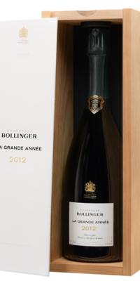 Bollinger La Grande Annee 2012 Vintage in Wood Box